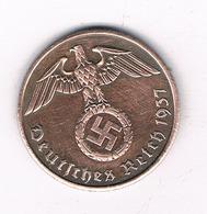 2  PFENNIG 1937 A   DUITSLAND /2324/ - [ 4] 1933-1945 : Troisième Reich