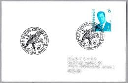 ESTORNINO PINTO - Sturnus Vulgaris - Common Starling - Etourneau Sansonnet. Bruxelles 1996 - Obliteraciones & Sellados Mecánicos (Publicitarios)