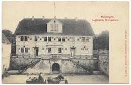 Büdingen Jagdschloss Thiergarten -, C1902 - A Heller'sche Buchhandling - Wetterau - Kreis