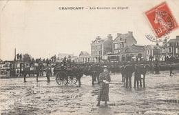 14--GRANDCAMP--LES COURSES AU DEPART-BON ETAT-VOIR SCANNER - France