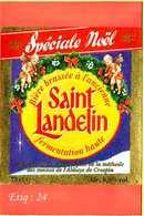 Etiquette De Biere :Speciale Noel Saint Landelin - Bière