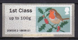 GB Post & Go Faststamps 2010 Birds Of Britain Single 1st Class - Great Britain