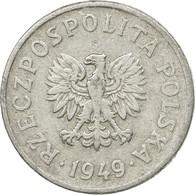 Monnaie, Pologne, 20 Groszy, 1949, Warsaw, TTB, Aluminium, KM:43a - Pologne