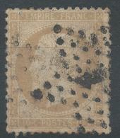 Lot N°46913  N°21, Obli étoile Chiffrée 1 De PARIS (Pl De La Bourse) - 1862 Napoleon III