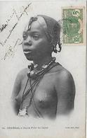SENEGAL -  1907 -  JEUNE FILLE DU CAYOR - Sénégal