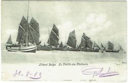 Littoral Belge. La Flotille De Pêcheurs. - Belgique