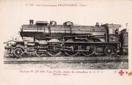 ¤¤  -   Carte-Photo   -  Les Locomotives Françaises ( ETAT )  -  Machine N° 231-604  -  Chemin De Fer   -  ¤¤ - Matériel