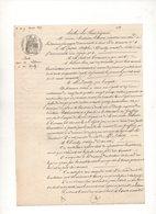 95/ GASPARD DAILLY.DERNIER MAITRE POSTE CHEVAUX PARIS 1857.LOT DOCS. - Documents Historiques