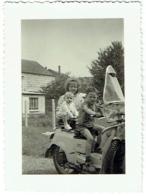 Foto/Photo. Enfants Et Moto : Moto Guzzi. - Cars