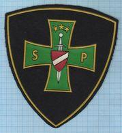 LATVIA / Patch Abzeichen Parche Ecusson / Convoy Service. Police. 1990s - Police & Gendarmerie