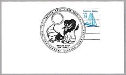 Fontana Host Lions Club - LEON - LION - GALLINA - CHICKEN. Fontana CA 1986 - Felinos