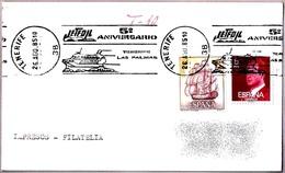 5º Aniv. JETFOIL TENERIFE-LAS PALMAS. Tenerife, Islas Canarias, 1985 - Barcos