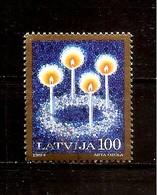 Latvia / Lettonia / Lettland – CHRISTMAS 1994 - Used Stamp (0)  1 Lats Big Value - Lettonie