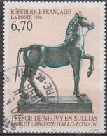 Cheval, Bronze Gallo-romain - FRANCE - Trésor De Neuvy En Sullias - N° 3014 - 1996 - Frankreich