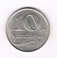 20 SANTIMU  1922 LETLAND /2336/ - Lettonie