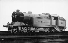 """¤¤  -   Carte-Photo  -   Locomotive Anglaise """" Creat Central """" N° 272   -  Chemin De Fer   -  ¤¤ - Matériel"""