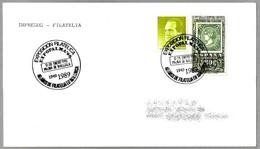 Matasellos EXPOPALMA'90 - 40 AÑOS DE FILATELIA EN MALLORCA. Palma, Baleares, 1990 - 1931-Hoy: 2ª República - ... Juan Carlos I