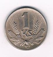 1 KORUN 1942 SLOWAKIJE /2337/ - Slowakei