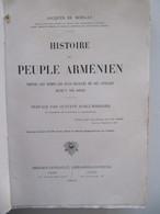 1919 Histoire Du Peuple Arménien - Jacques De Morgan - Ed Berger Levrault Paris - Histoire