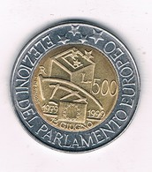 500 LIRE 1999 ITALIE /2339/ - 1946-… : République