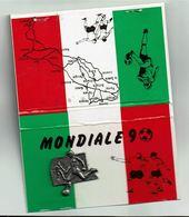 """Pochette Allumettes """" MONDIAL 90 """" - Boites D'allumettes"""