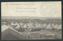 MAROC 1915 CPA Dar Caid Ito Troupes Occup. Maroc Occidental - Marcophilie (Lettres)