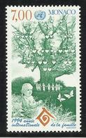 MONACO , 7 Frs , Année Internationale De La Famille , 1994 , N° YT 1939 , NEUF ** - Neufs