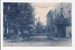CPA 06 ST CEZAIRE La Fontaine - France