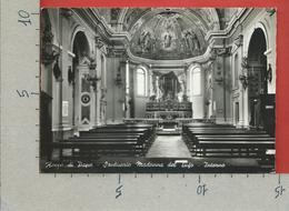 CARTOLINA NV ITALIA - ROCCA DI PAPA (ROMA) - Santuario Madonna Del Tufo - Interno - 10 X 15 - Roma