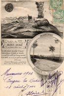 51. CPA. BERGERES LES VERTUS. MONT AIME Ou AYME; Vestiges Chateau. 1906. - France