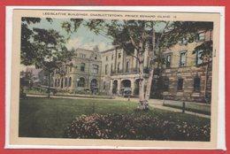 ISLANDE -- Legislative Buidings - Charlottetown - Islande