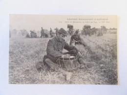 Guerre 14-18 - Grandes Manoeuvres D'Automne - Après La Manoeuvre, La Lettre Au Pays - Carte Animée, Non-circulée - Guerre 1914-18