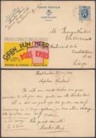 "BELGIQUE EP PUBLIBEL  OBL RELAIS ""HOUTHAELEN"" (DD) DC-2371 - Stamped Stationery"