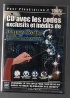 Jeu HARRY POTTER ET LA CHAMBRE DES SECRETS CD CHEATS CODES Ps2 - Sony PlayStation