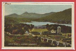 ISLANDE -- Garnish Island é Mountains , Glengarriff - Islande