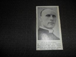 """Origineel Knipsel ( 2562 ) Uit Tijdschrift """" Ons Volk """"  1934 :   Pastoor Michiels   Opstal - Buggenhout - Vieux Papiers"""