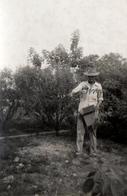 Photo Originale Cueilleur Au Venezuela En 1953 - République Bolivarienne Du Venezuela - Voir Légende Dos - Métiers