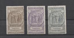 REGNO 1923 CAMICIE NERE SERIE CPL.  * GOMMA ORIGINALE - 1900-44 Victor Emmanuel III