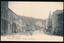VRESSE -   BORDS DE LA SEMOIS - GRAND RUE - Vresse-sur-Semois