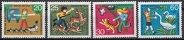 Germania 1972 Sc. B481/B484 Protezione Animali Natura - Full Set MNH Anatra Cervo Gatto Cigni - Protezione Dell'Ambiente & Clima