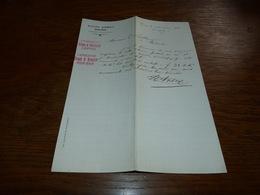 FF6  Document Commercial Facture Victor Ansay Trooz 1900 Pharmacien Chimiste - Belgique