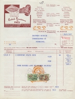 1967: Factuur Van/Facture De  ##Centrale Renaisienne Du Pneu (Mirval Kerkhove), Renaix/Ronse##  Aan/à Brouwerij HAUSPIE, - Automobile