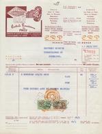 1967: Factuur Van/Facture De  ##Centrale Renaisienne Du Pneu (Mirval Kerkhove), Renaix/Ronse##  Aan/à Brouwerij HAUSPIE, - Cars