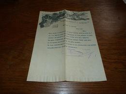 FF6  Document Commercial Facture Fabrication De La Céruse & Du Minium De Fer Auderghem 1901 N Ligot - Belgique