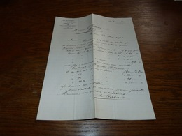 FF6  Document Commercial Facture Ed Aubanel London 1901 - Belgique
