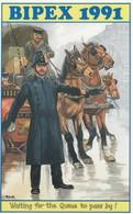 Postcard Bipex 1991 British International Postcard Exbibition [ Card No 15 ] My Ref  B12936 - Expositions
