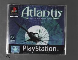 Jeu ATLANTIS SECRET D'UN MONDE OUBLIE PS1 + NOTICE...3 CD..la Boite Ne Tiens Pas Sur Le Côté Bas Gauche - Sony PlayStation