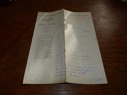 FF6  Document Commercial Facture Société Anonyme Des Charbonnages De Bascoup 1900 - Belgique