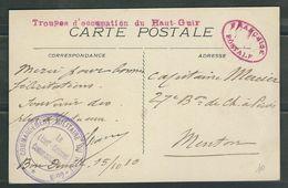 MAROC 1910 CPA Bou Denib Colonne Du Haut Guir - Marcophilie (Lettres)