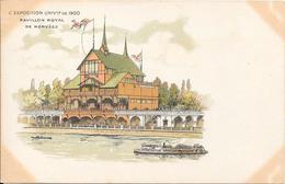 Carte Précurseur - L'EXPOSITION UNIVlle De 1900 - Pavillon Royal De Norvège - Expositions